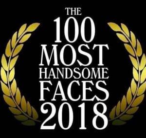 世界で最もハンサムな顔 2018